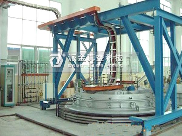 真空变压(可控气氛)大型井式渗氮炉(生产线)